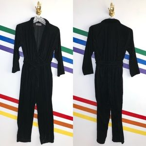 NEW Urban Outfitters velvet jumpsuit